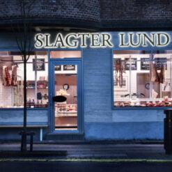 Slagter Lund på Jægersborg Allé